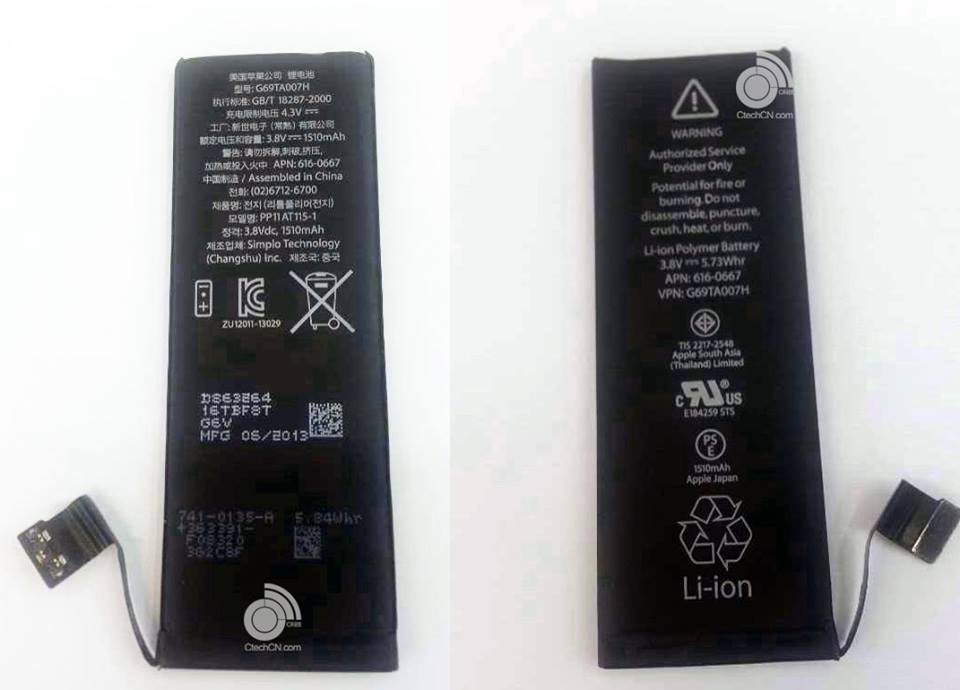iphone 5c battery life stronger battery inside iphone 5s 5c detailed 2911