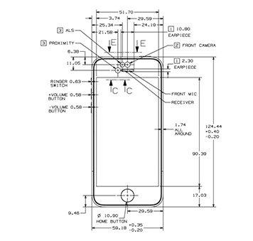 Apple posts official iPhone 5s/5c schematics