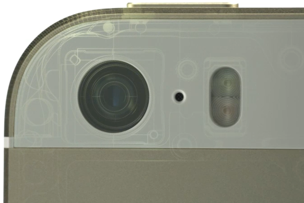 iPhone 5s camera hardware