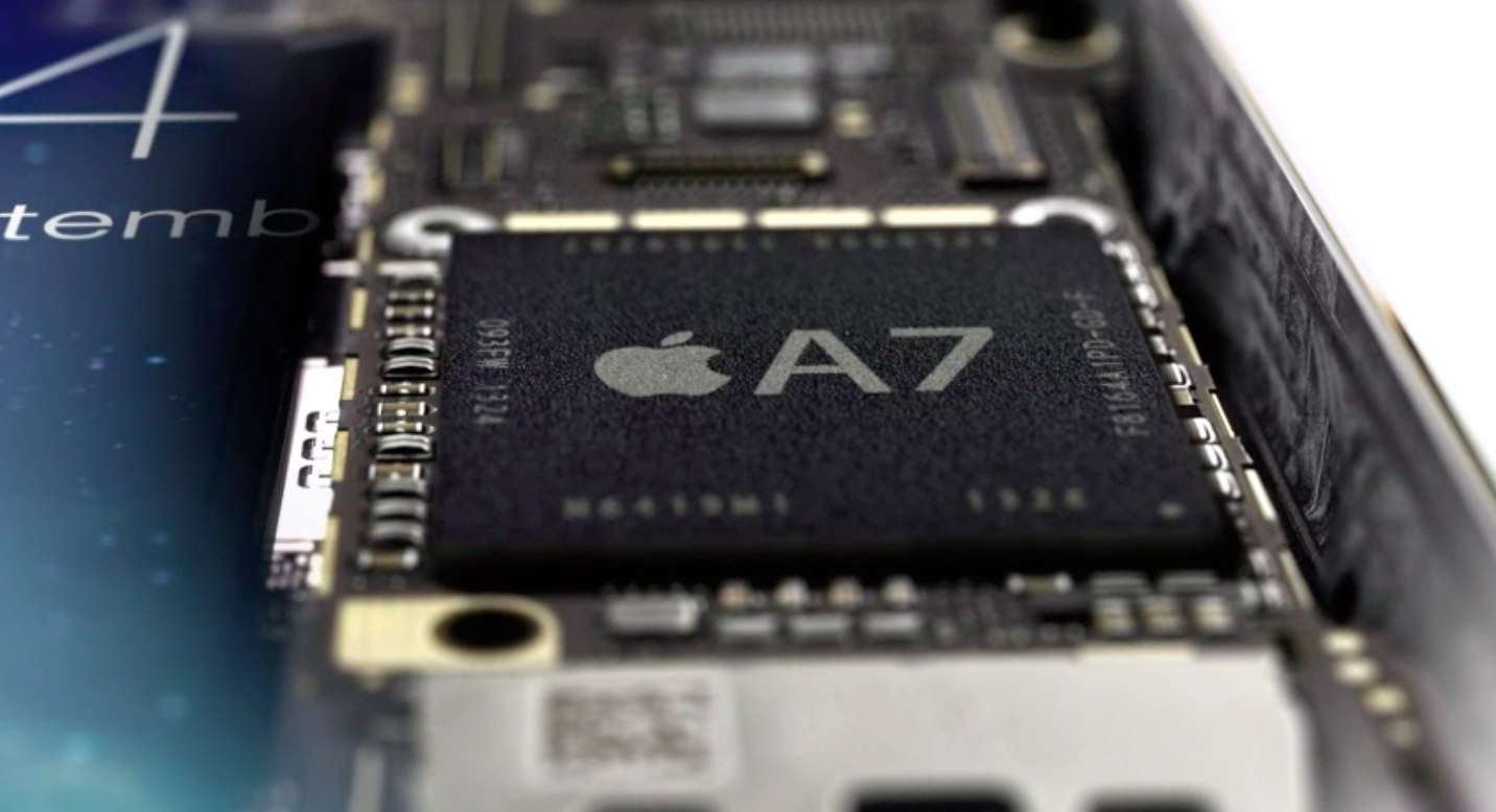 iPhone update - Apple A7 chip