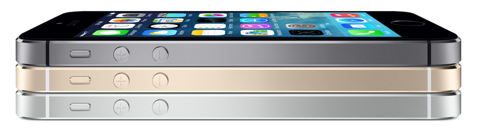 iPhone 5s space gray gold silver