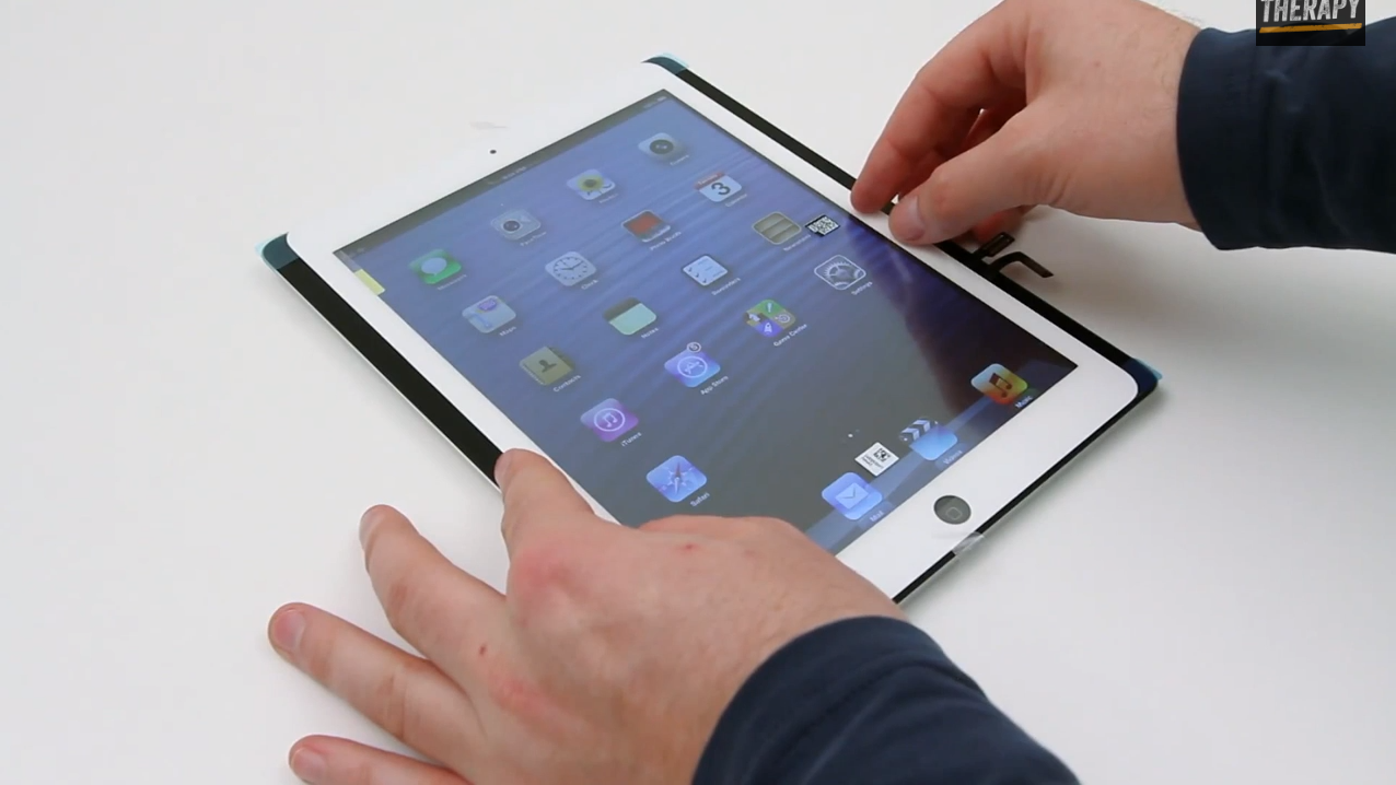 ipad 5 on video