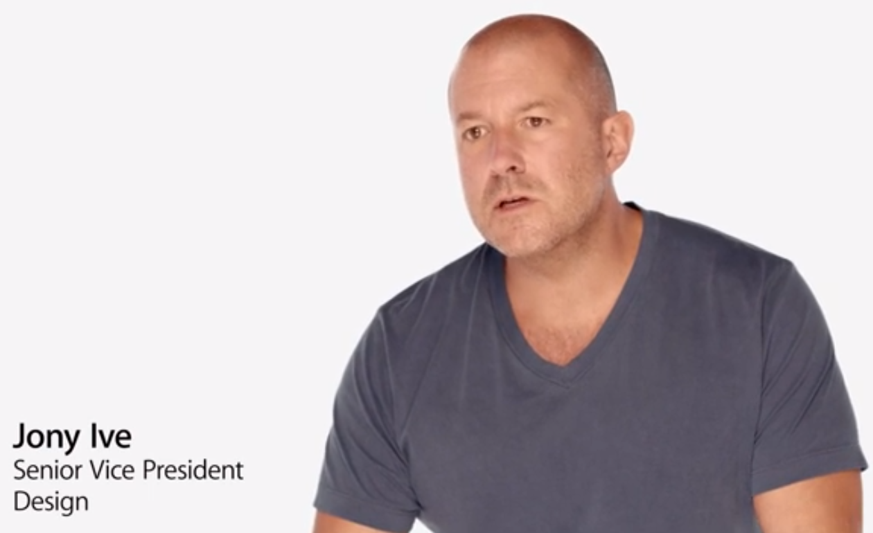 jony ive video talk