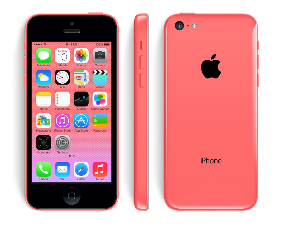 red iPhone 5c