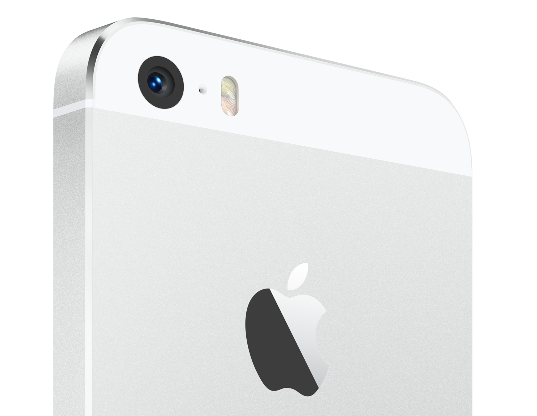 white iPhone 5s camera