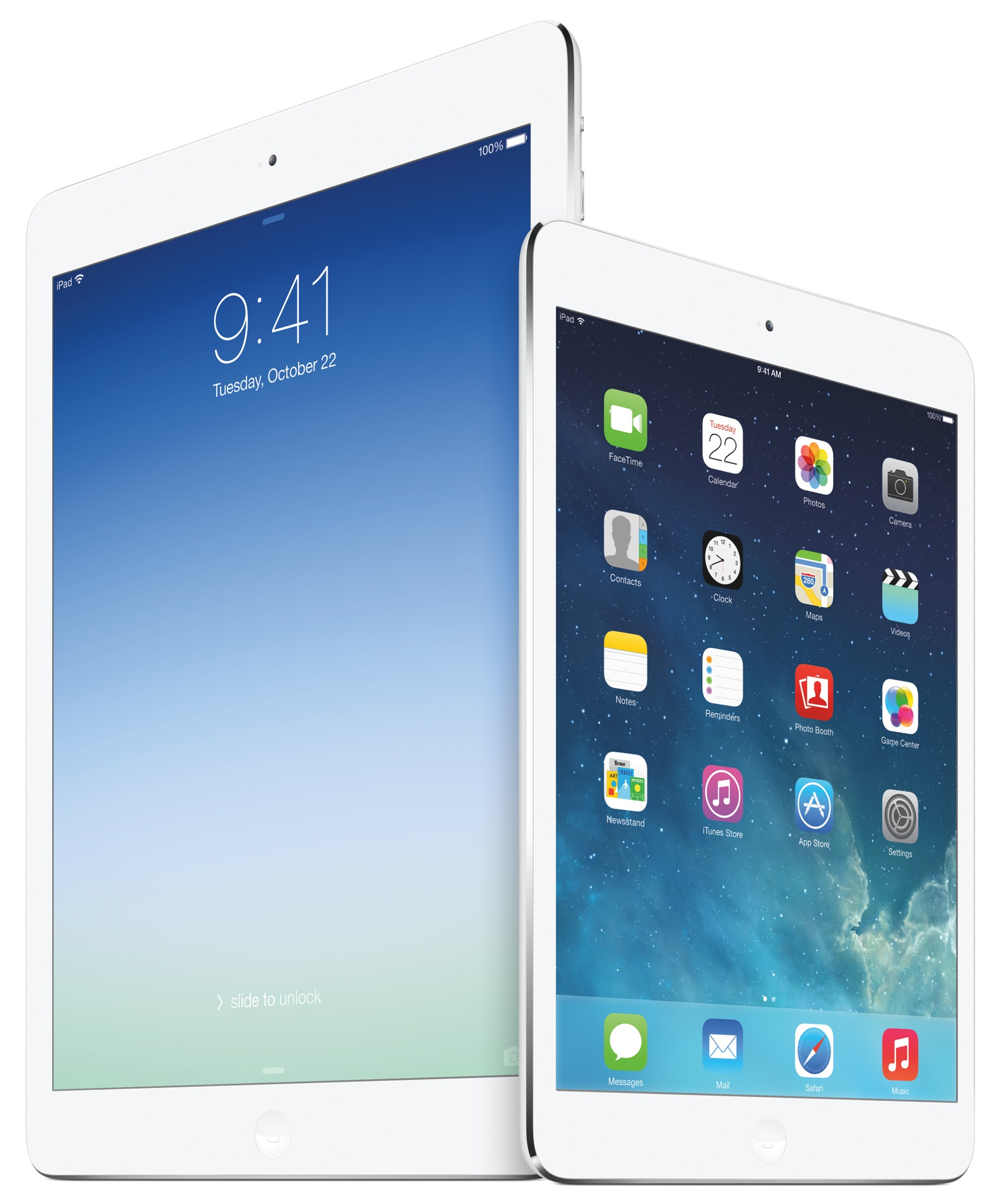 2013 iPad family (Retina iPad mini 2, iPad Air)