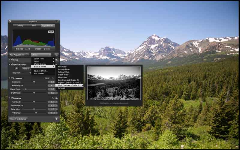 Aperture 3.5 for Mac (screenshot 002)