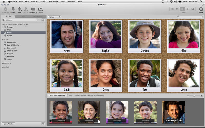 Aperture 3.5 for Mac (screenshot 003)