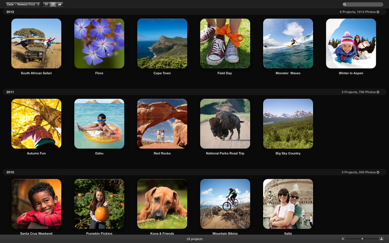 Aperture 3.5 for Mac (screenshot 004)