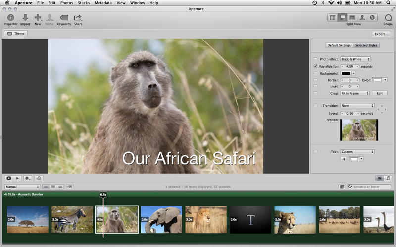Aperture 3.5 for Mac (screenshot 005)