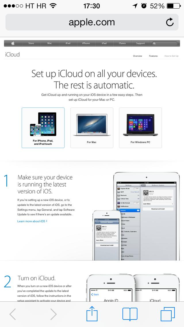 App Store banner (iCloud 002)