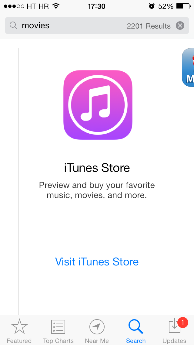 App Store banner (iTunes Store 001)