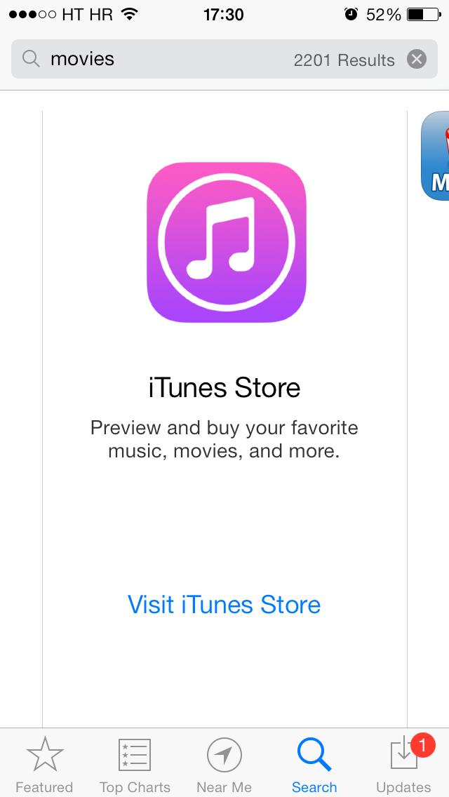 App Store banner (iTunes Store 001)