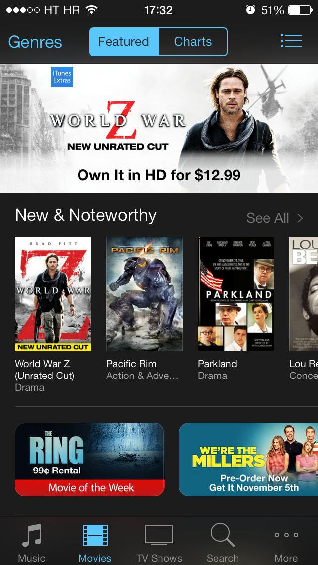 App Store banner (iTunes Store 002)