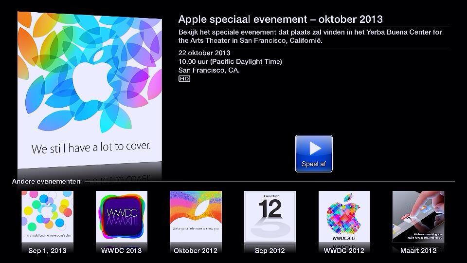 Apple Events (October 2013, Apple TV 001)