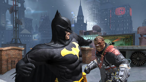 Batman Arkham Origins 1.0 for iOS (iPhone screenshot 004)