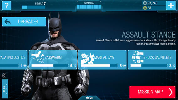 Batman Arkham Origins 1.0 for iOS (iPhone screenshot 005)