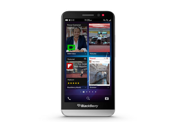BlackBerry Z30 (front)