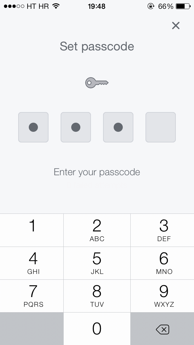 Boxie 1.1 for iOS (Passcode protection 001)
