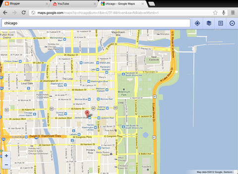 Chrome 30 for iOS (iPad screenshot 001)