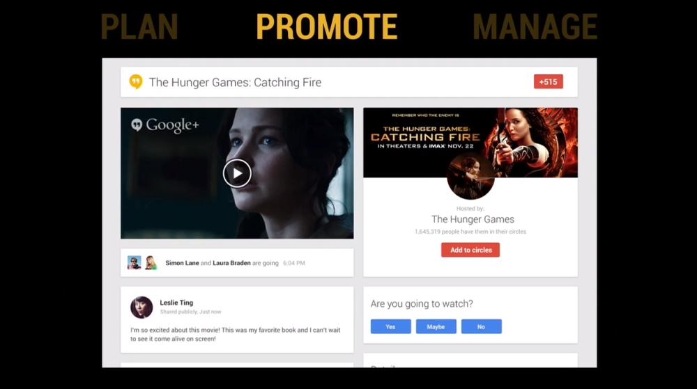 Google Hangouts promote