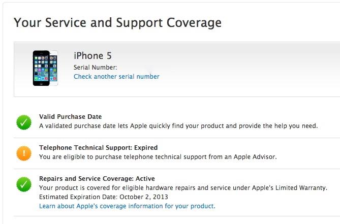 check mac serial number online