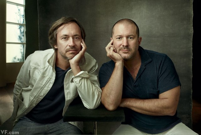 Jony Ive and Marc Newson (Vanity Fair 001)