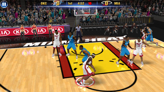 NBA 2K14 1.0 for iOS (iPhone screenshot 001)