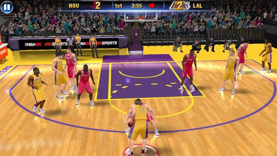 NBA 2K14 1.0 for iOS (iPhone screenshot 002)