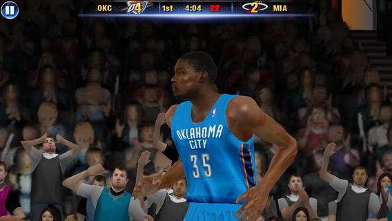 NBA 2K14 1.0 for iOS (iPhone screenshot 003)