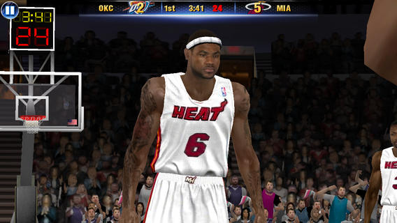 NBA 2K14 1.0 for iOS (iPhone screenshot 004)