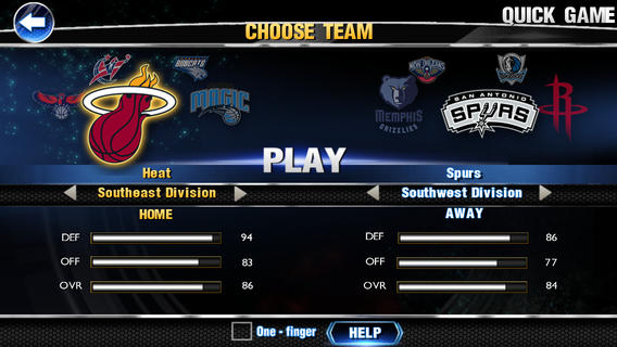 NBA 2K14 1.0 for iOS (iPhone screenshot 005)