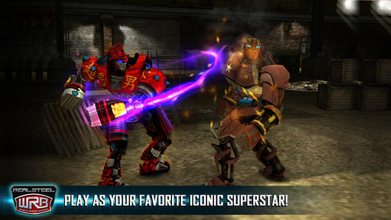 Real Steel World Robot Boxing (iPhone screenshot 004)