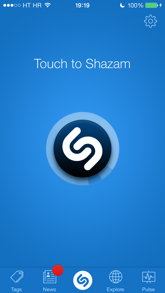 Shazam 7.1 for iOS (iPhone screenshot 002)