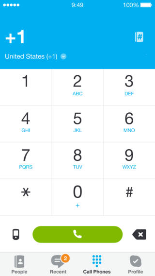 Skype 4.13 for iOS (iPhone screenshot 004)