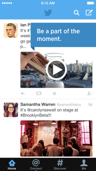 Twitter 5.12 for iOS (iPhone screenshot 002)