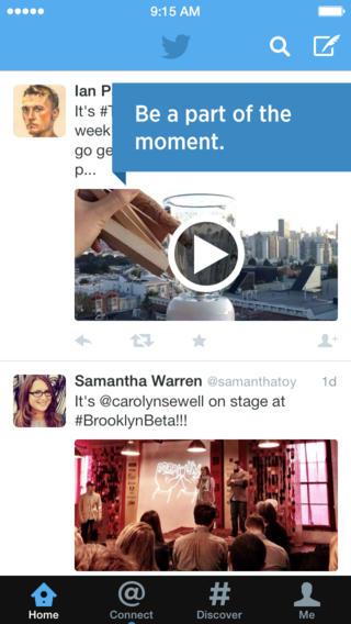 Twitter 5.12 for iOS (iPhone screenshot 002)