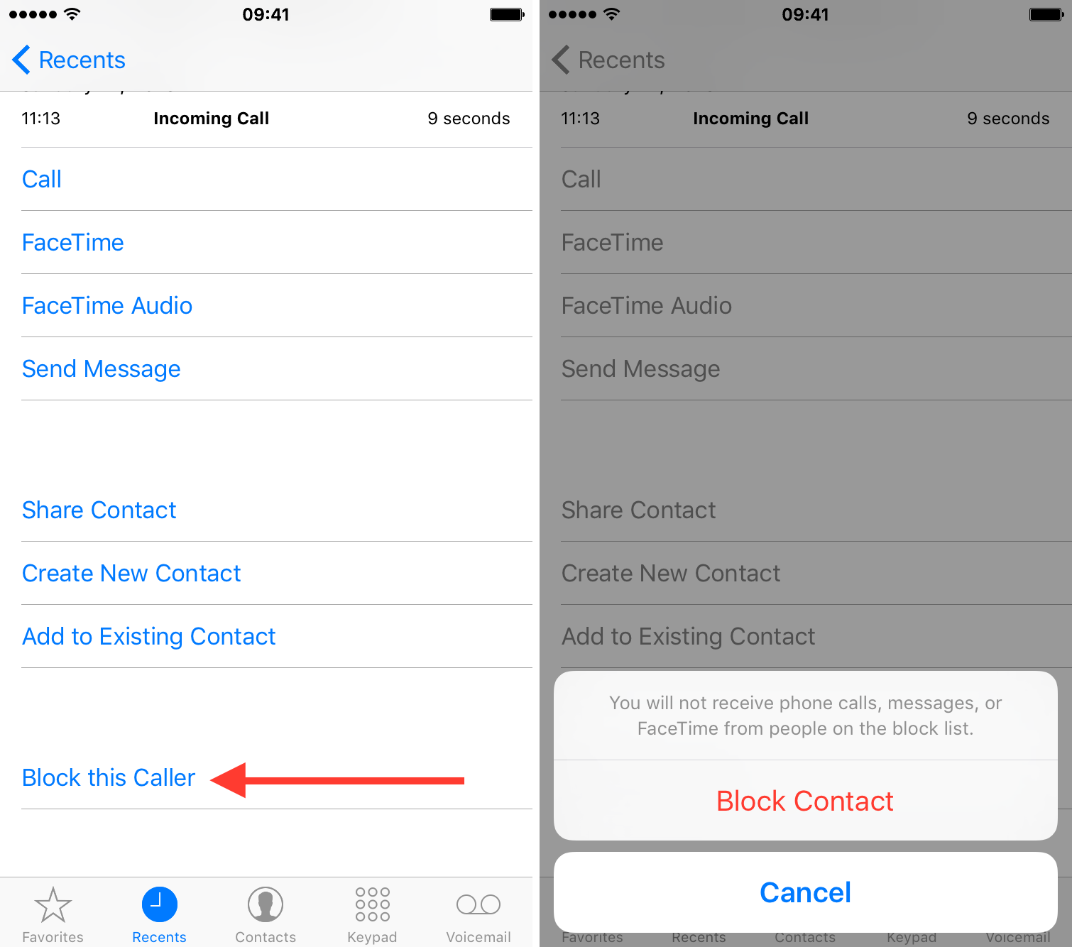 how to block someone on your iphone how to block someone from contacting you in ios 19860