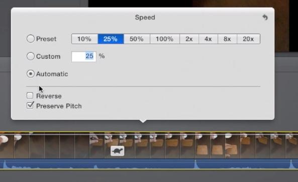 iMovie Slow Mo Editor