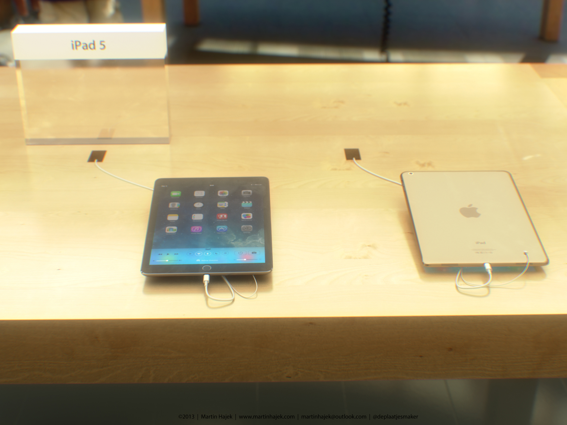 iPad 5 (Apple Store concept, Martin Hajek 001)