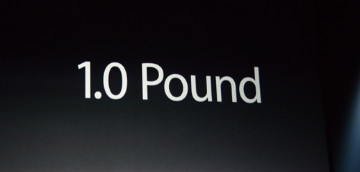 iPad Air 1 pound