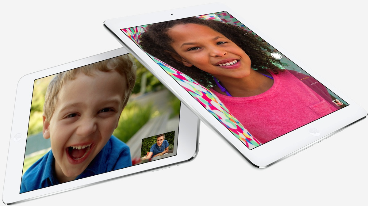 iPad Air Facetime