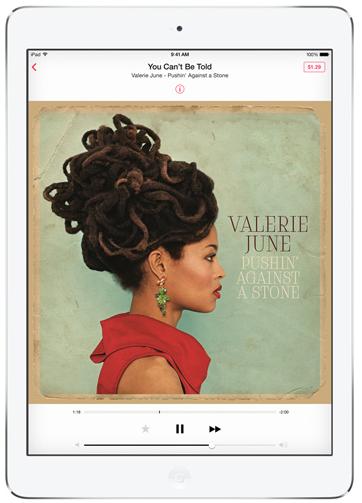 iPad Air Music