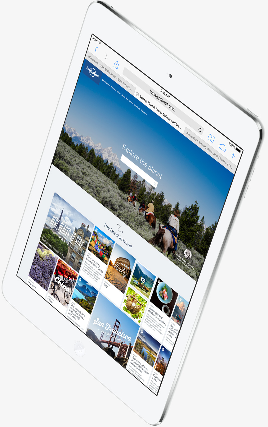 iPad Air Safari 2