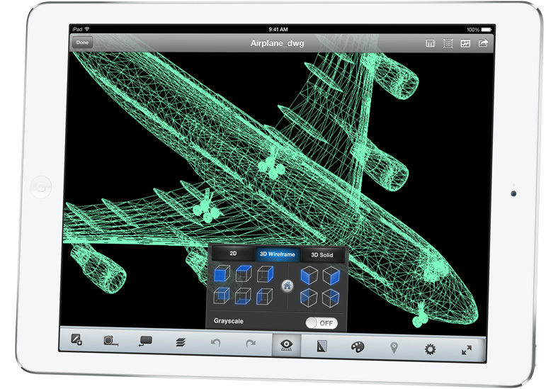 iPad Air airplane app
