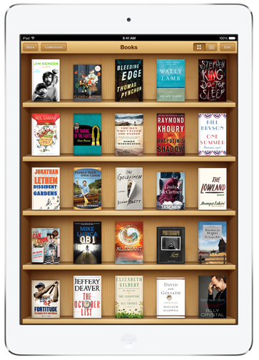 iPad Air iBooks
