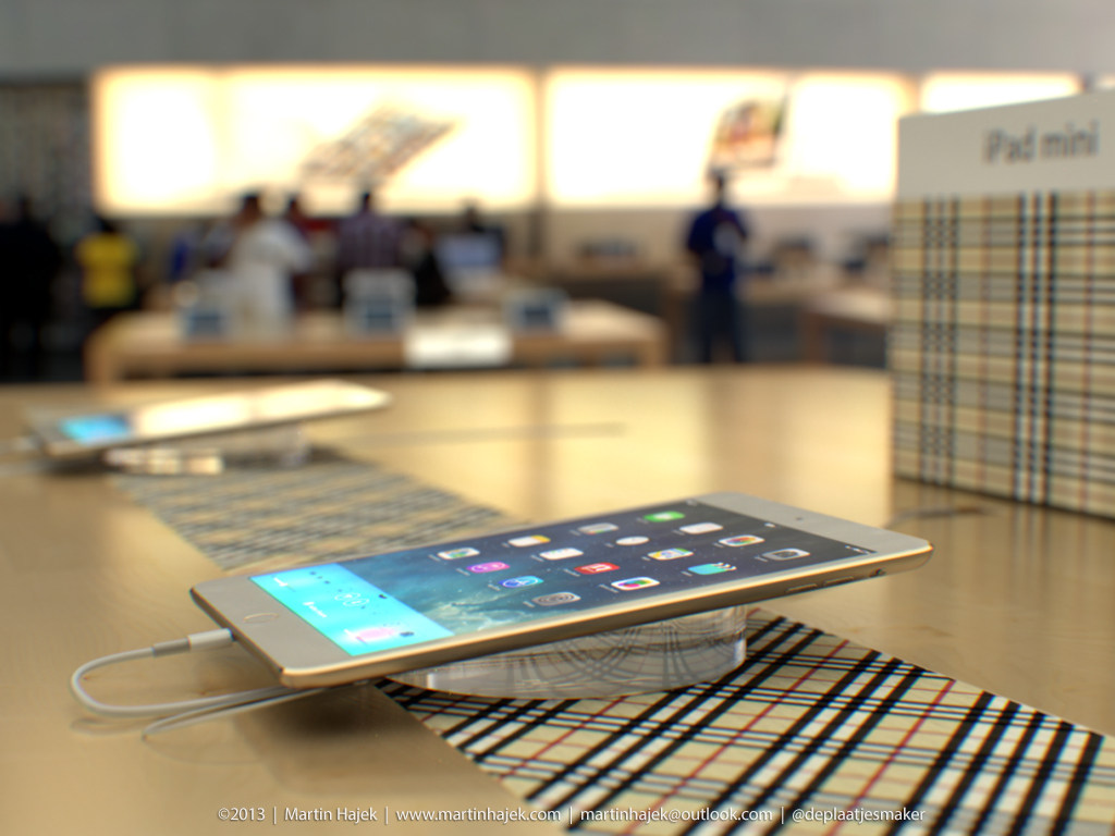 iPad mini 2 in Apple Store (Martin Hajek 002)