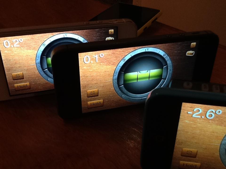 iPhone sensor readings (VentureBeat 001)