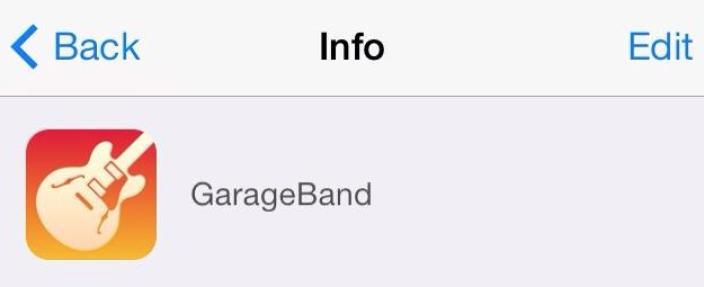 ios 7 garageband
