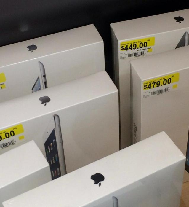 ipad air stock